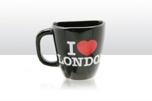I Love London Fridge Magnet Souvenir Coffee Cup Travel Gift