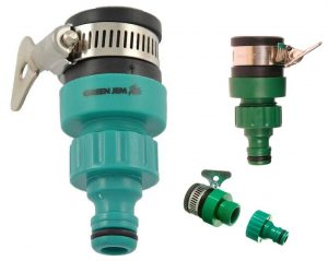 Green Jem Quick Fix Hose To Tap Adapter