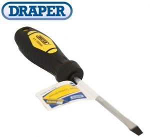 Draper 08600 6mm Hardened Flat Screwdriver