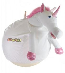 WALIKI TOYS Unicorn Plush Ball Hopper/ Adult size