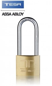 Tesa Assa Abloy 30mm Long shakle padlock