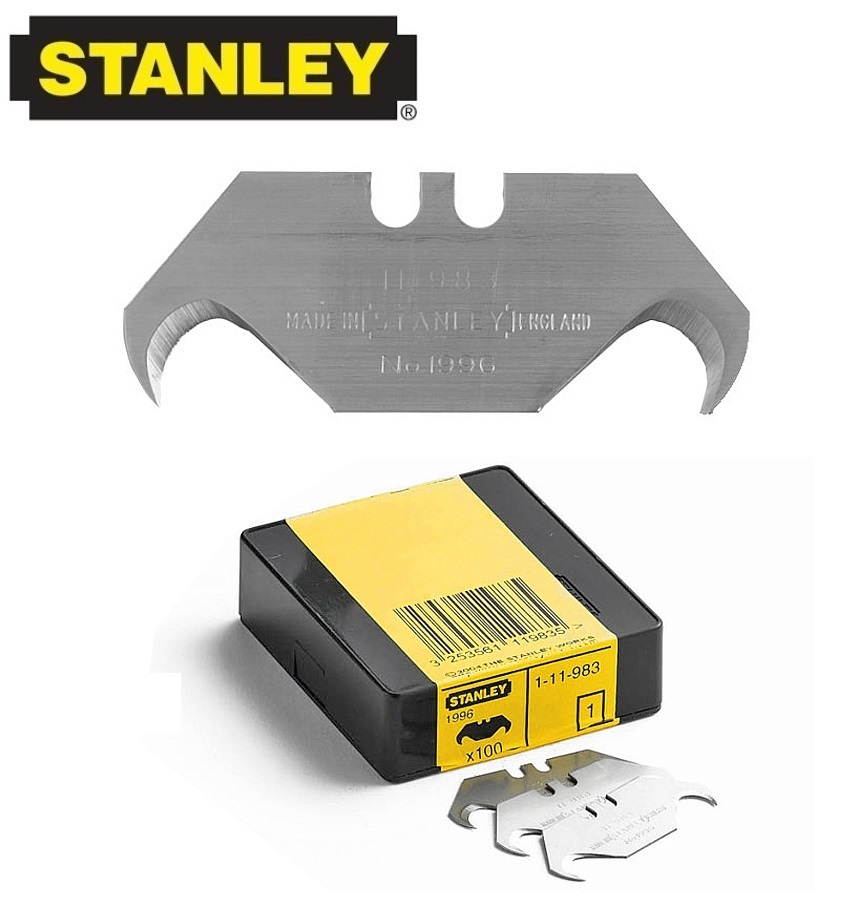 Stanley 100x 1 11 983 Replacement Hooked Blades 1996