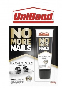 UniBond No More Nails Invisible Glue 41g Tube Indoor Use Instant Grab