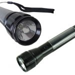 Maidston Solar Aluminum Flashlight Torch