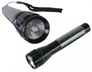 Maidston Solar Aluminum Flashlight Torch
