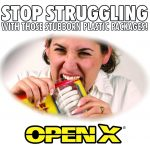 OpenX Dual Blade Universal Package Opener,blade gadget