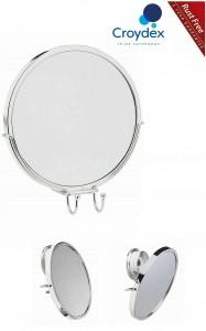 Croydex Anti-Fog Anti Fog Mirror Rust Free