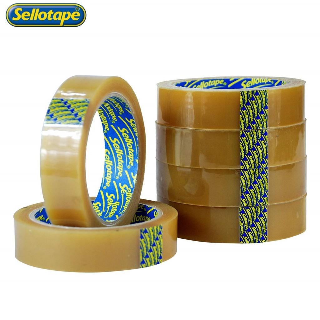 Sellotape Original Tape 24mm x 50m Pack 6
