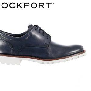 Rockport Men's Colben Plain Toe shoes CH3953 Navy Blue
