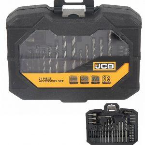 JCB 34 Pieces Mixed Drill bit set DIY set