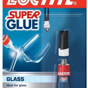 Henkel Loctite Glass Bond Superglue 3ml Tube