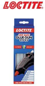 Hot Melt Glue Gun Adhesive Loctite Super Long Pack of 6 Refill Sticks
