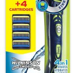 Wilkinson Sword Hydro 5 Groomer Men's 4-in-1 Shaver Razor Trimmer Pack