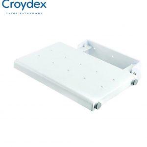 Croydex Wall Mounted Fold-Away Shower Seat