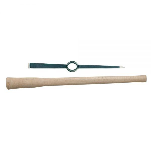 BULLDOG 7lb Pick Axe Chisel & Point Head & Handle -PA5SET
