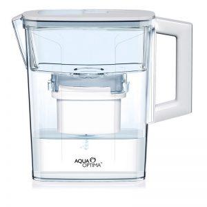Aqua Optima Compact Water Filter Jug Includes 30 Days Filter 2.1L
