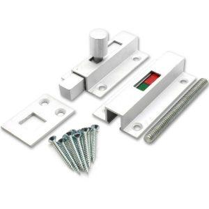 Bathroom Indicator Bolt – Aluminium J3701