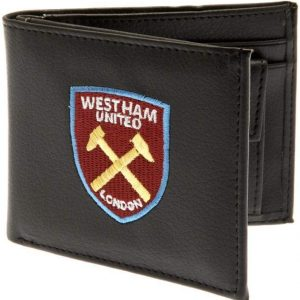 West Ham United F.C. Embroidered Leather Wallet