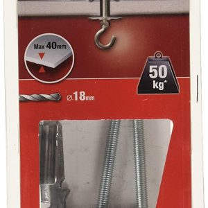 Molly Hollow Metal Cavity Ceiling Swing Toggle Hooks M50602