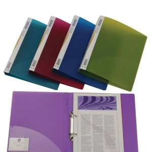Rapesco Assorted A4 25mm Ring Binders, Pack of 10 - 0716
