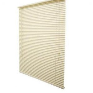 150x160cm Alabaster 25mm Ready Made PVC Venetian blinds