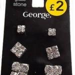 George earrings