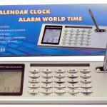 World Time Calendar Calculator Alarm Clock