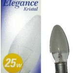 GE B22 Elegance Decorative Crystal Candle bulb