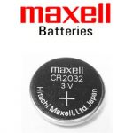 x maxell CR2032 3V Lithium Button Batteries