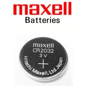 x maxell CR2032 3V Lithium Button Batteries