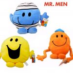 Mr. Men The Big Match 3x 10cm Plush Soft Toys