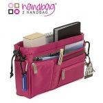 Handbag 2 Handbag Hot Pink bag organizer