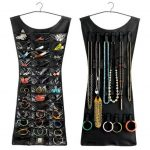 2-Sided Dress-Shaped Jewellery Organizer Safe