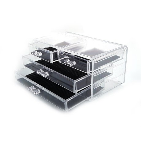 4 Drawer Acrylic Cosmetic Makeup Organizer