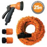 Stretch Hose Self- Expanding 25ft Stretch Hose & Spray Gun