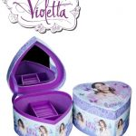 Disney Violetta Girls heart Shaped Jewelry box