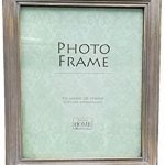 Innova Stylish and Chic Limed Solid Wood Ridged Effect Photo Frame (15x20cm)