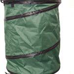 Garden Shed Large Green Pop-up Tidy Bag Bin 45cmx60cm