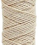 Natural Cotton Twine Braided Rope 50m