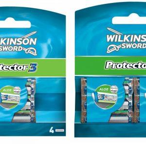 Wilkinson Sword Protector 3 Blades Refill pack –4 / 8 Pack