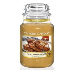 Yankee Candle Vanilla French Toast Large 623g Jar