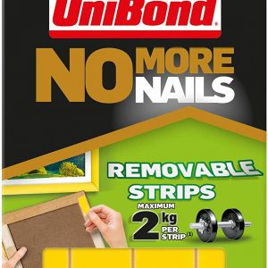 Unibond No More Nails 5x Double Sided Picture Hanging Strips
